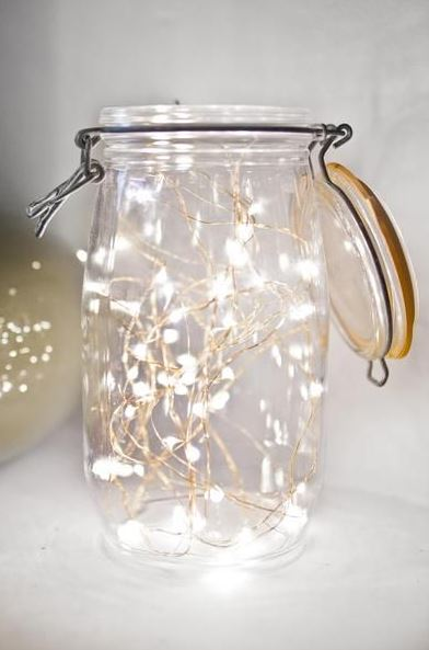 Fairy Lights In A Jar