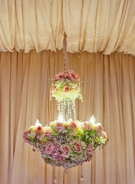 Flower Bouquet Chandelier